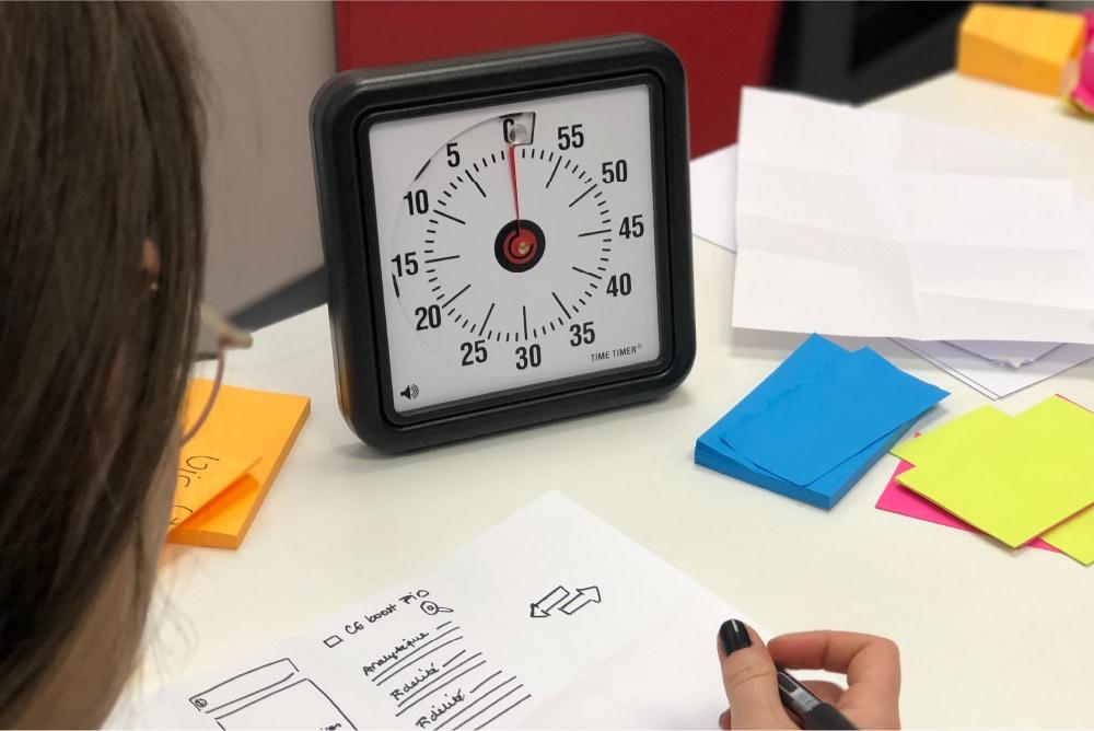 Design Sprint Time Timer